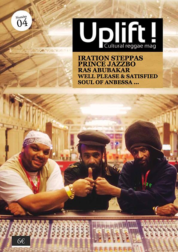 ekg-design,Uplift Reggae Mag cover#4