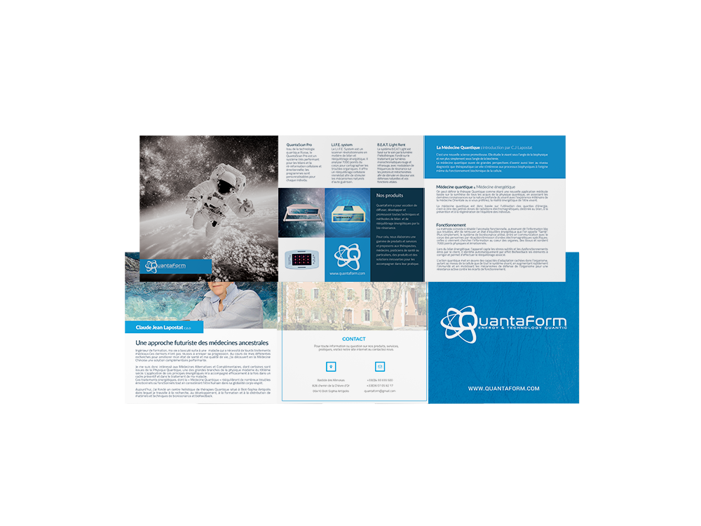 ekg-design, Quantaform square brochure