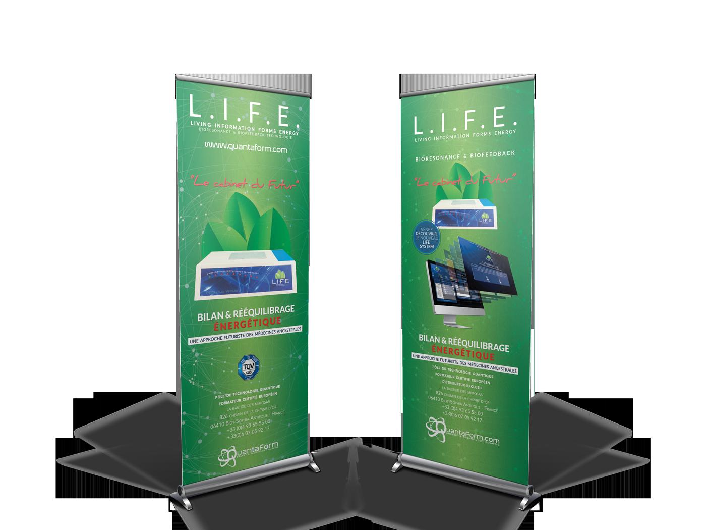 ekg-design, Quantaform Life system