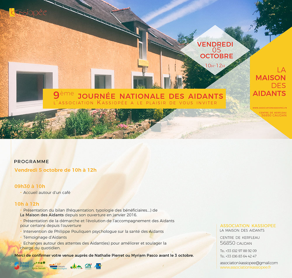 ekg-design, association Kassiopée Invitation JNA2018