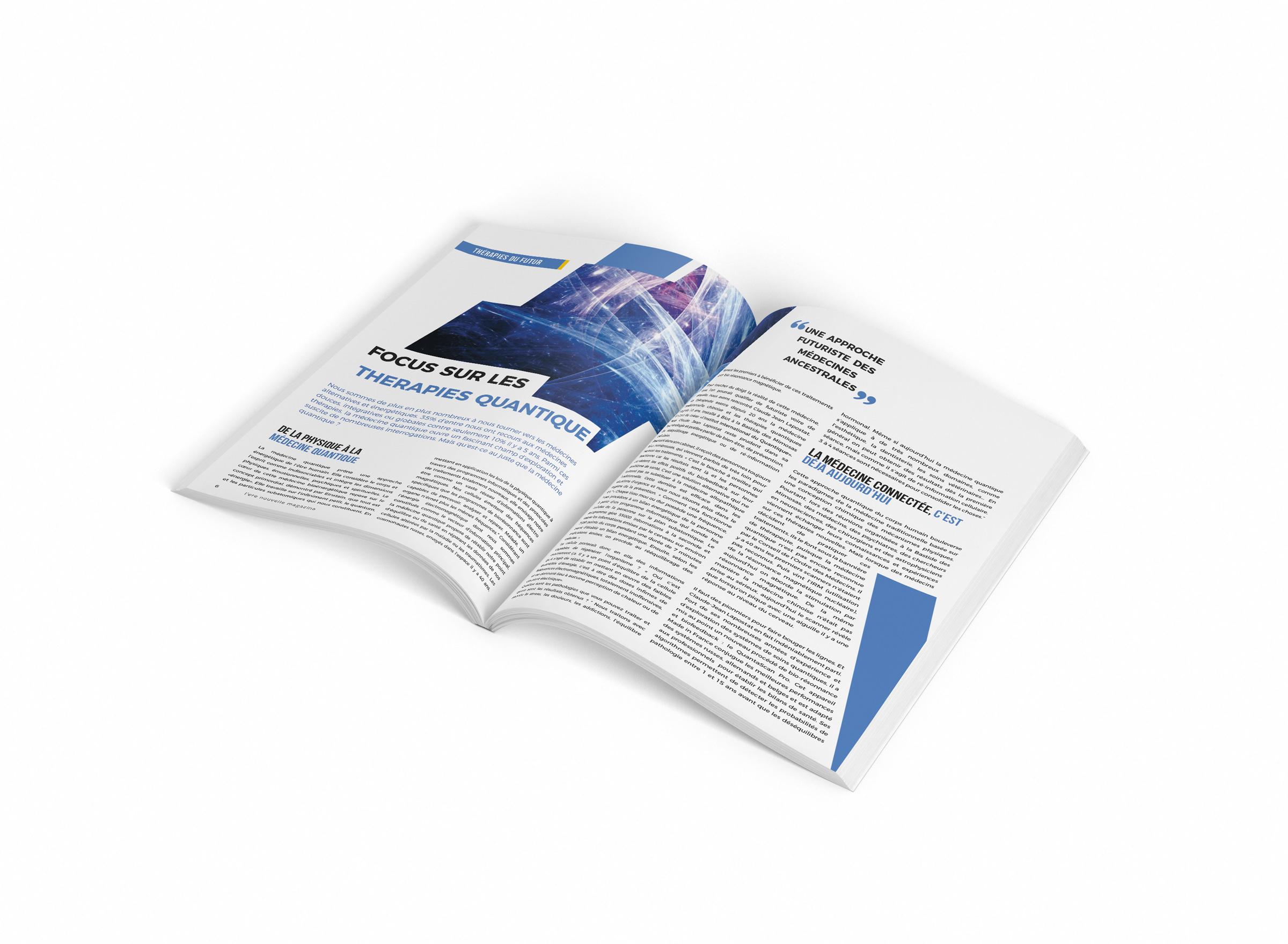 ekg-design, Quantaform Ere Nouvelle Mag #1 Article 1